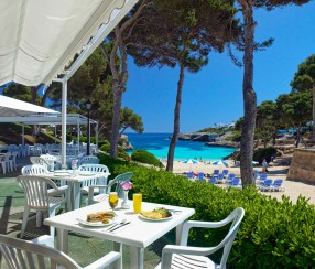 Stylish beach bars majorca