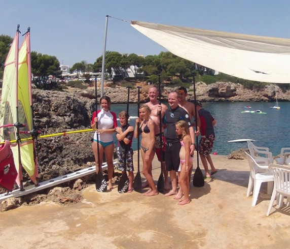 Windsurfing and sailing school in Mallorca
