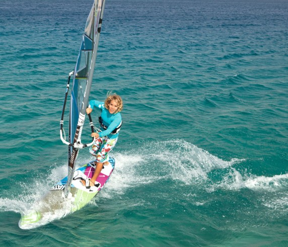 Windsurfing and sailing school esmeralda park hotel
