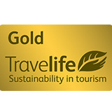 Travelife for Hotels & Accommodations Gold award