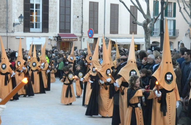 Holy Thursday and Good Friday, Mallorca