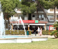 Pizzas and minigolf inturotel Majorca