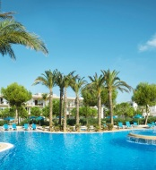 Es Sivinar aparthotel swimming pools