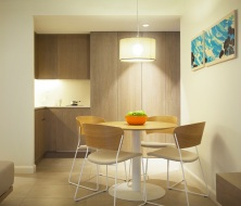 premium apartment kitchenette