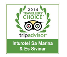 Inturotel Sa Marina & Es Sivinar Honoured in the 2014 Tripadvisor Travellers' Choice Awards