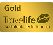 Travelife Gold Award sustainability